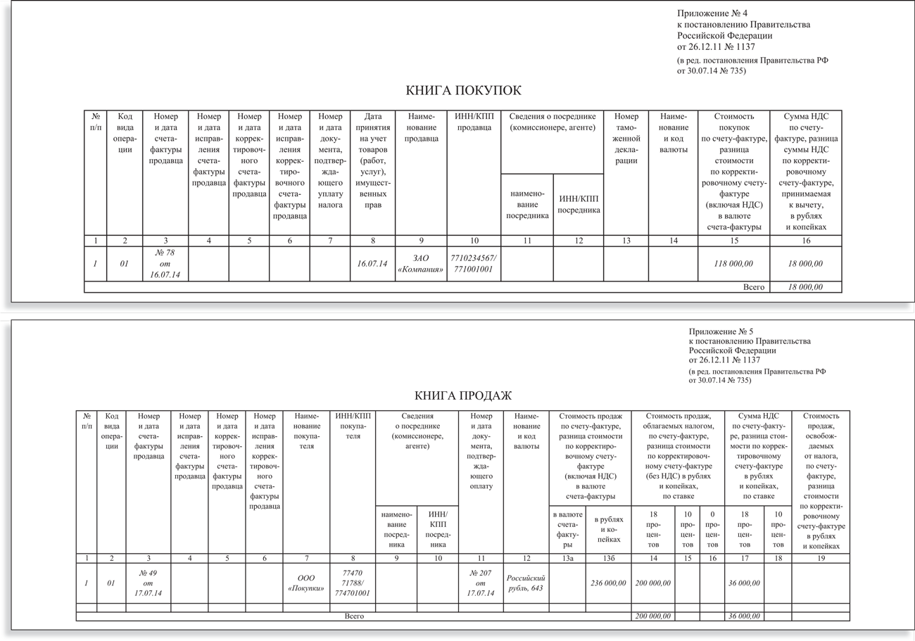 счет фактура нового образца 2015 образец заполнения