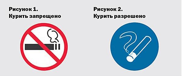 Знак о запрете курения должен быть в каждом офисе