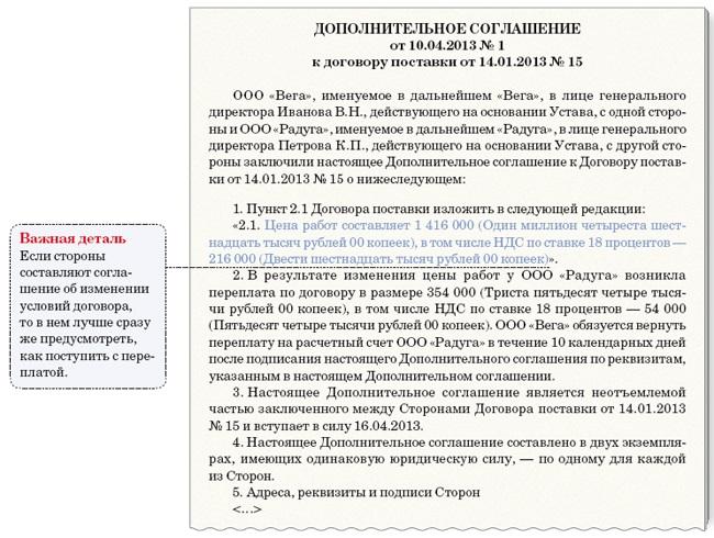 Образец Доп Соглашение О Расторжении Контракта По 44-фз - фото 11