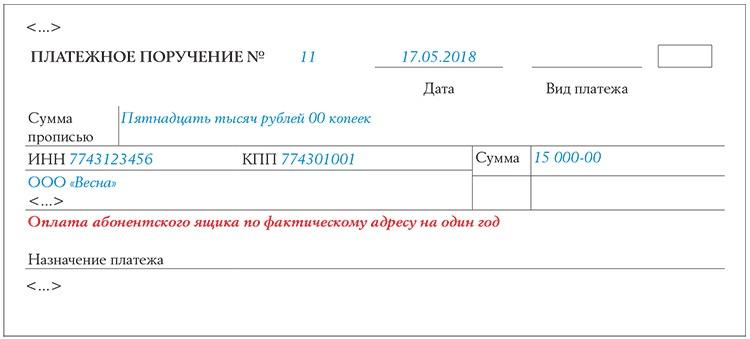 Назначение платежа при перечислении займа юр лицу