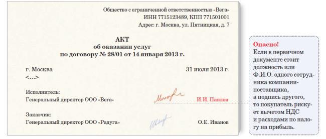 образец письма на право подписи
