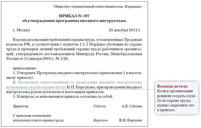 программа перечень вопросов инструкция проведения вводного инструктажа - фото 9
