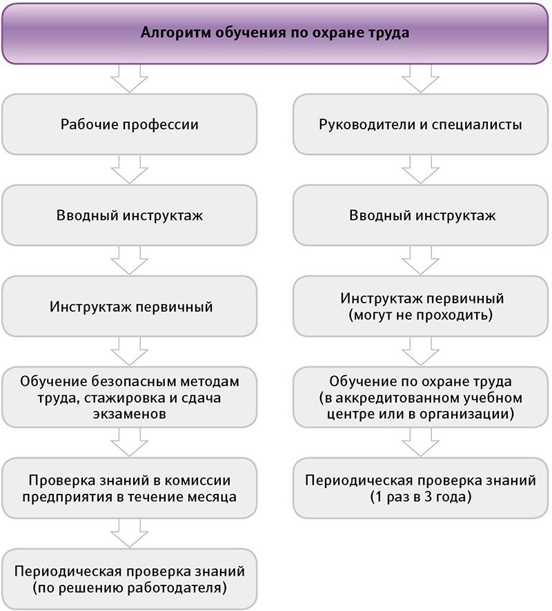 Обучение по охране труда: как правильно организовать инструктаж и проверку знаний