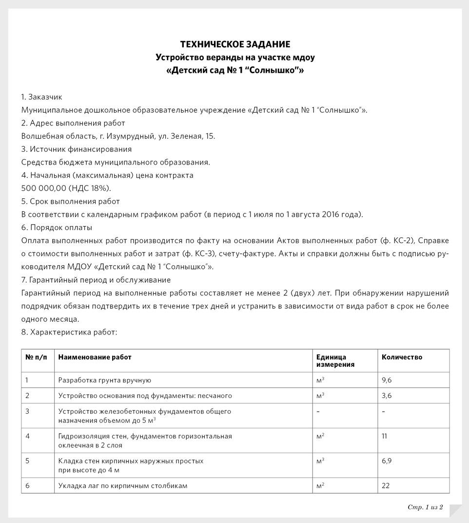 муниципальный контракт на оказание услуг водоснабжения образец