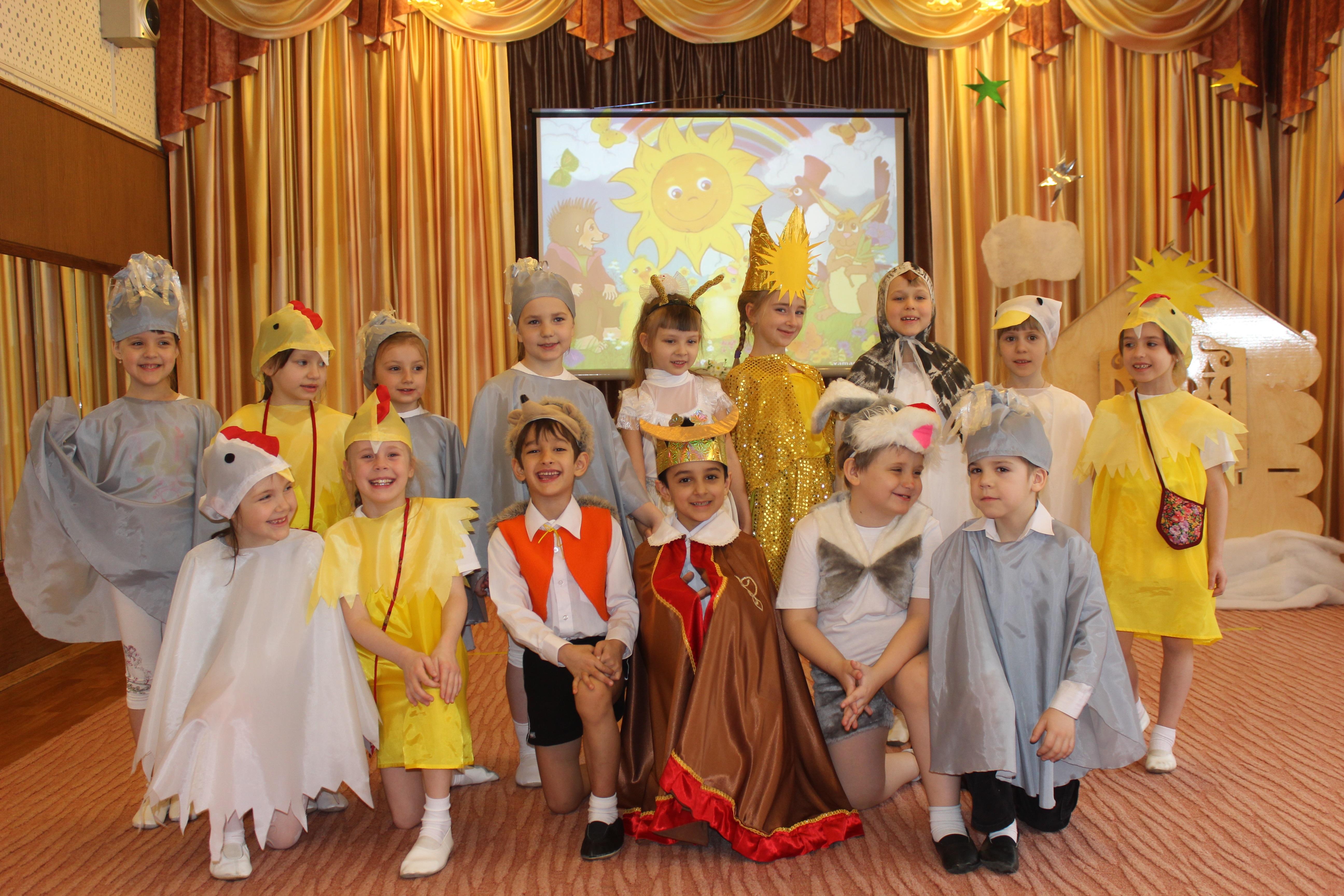 Детский творческий проект  в детском саду «У солнышка в гостях»