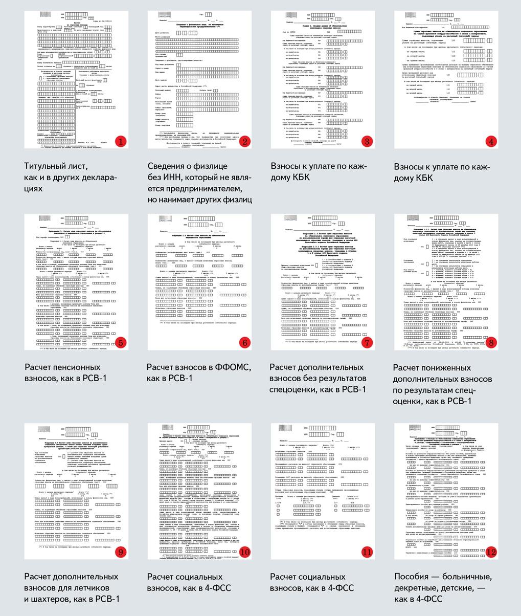 реестр страховых случаев бланк приложение 2