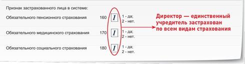 Нулевой расчет по страховым взносам за 2 квартал: пример заполнения